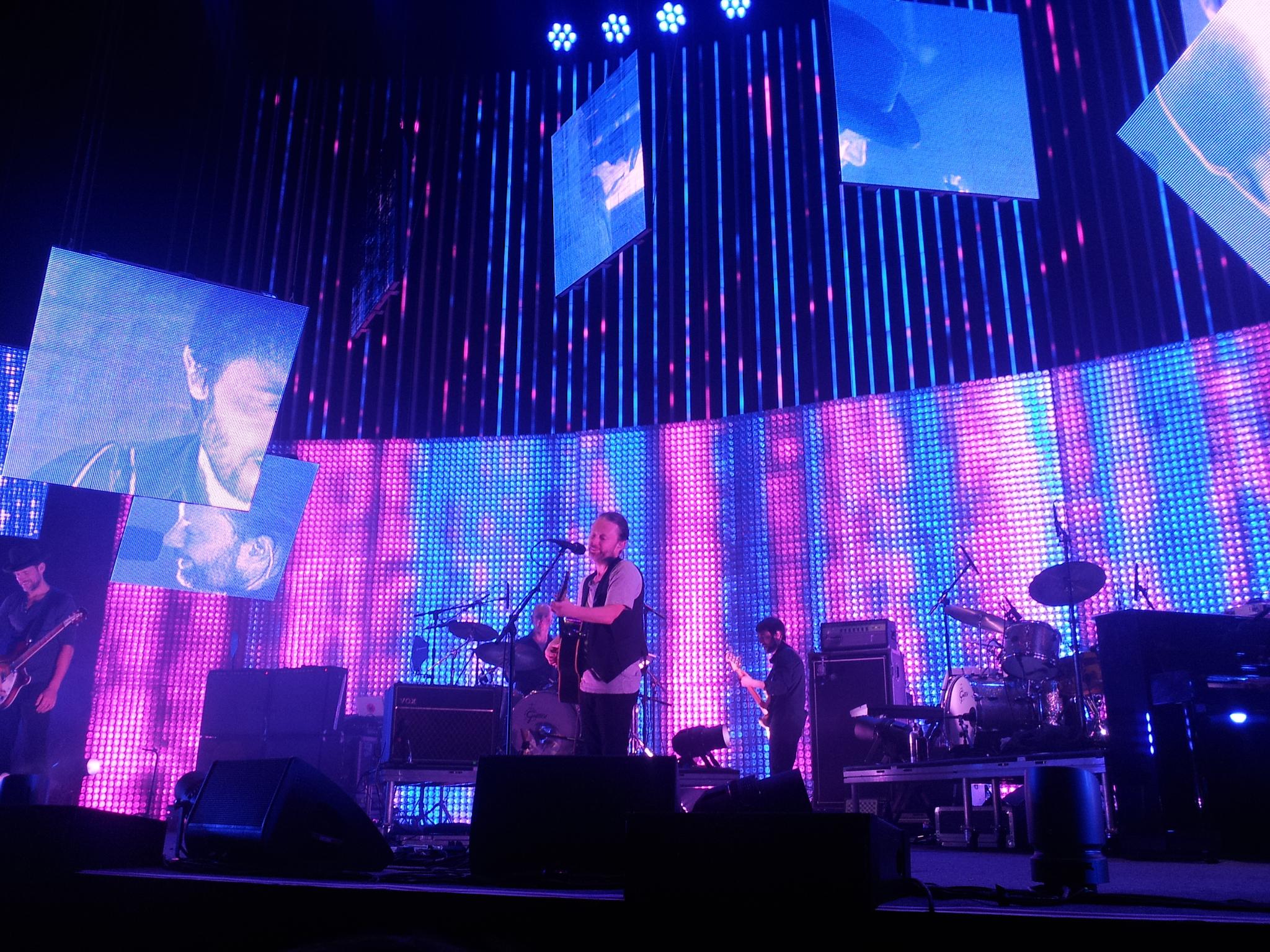 Radiohead, Live, Concert, Thom Yorke