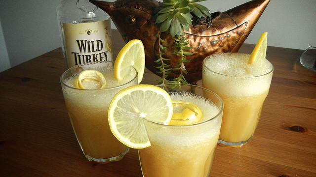 Looking forward to a Wild Turkey Bourbon Slushie!